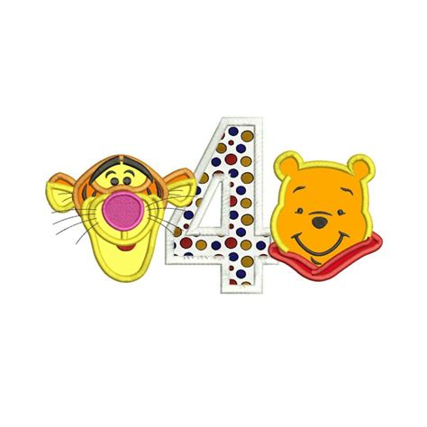 winnie apliques winnie the pooh applique design