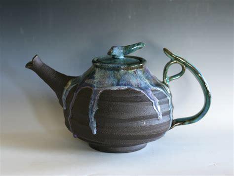 Handmade Ceramic Pots - ceramic teapot large holds 88 oz handmade stoneware