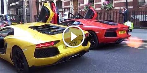 Lamborghini Sounds S Streets Battleground Aventador Vs Aventador