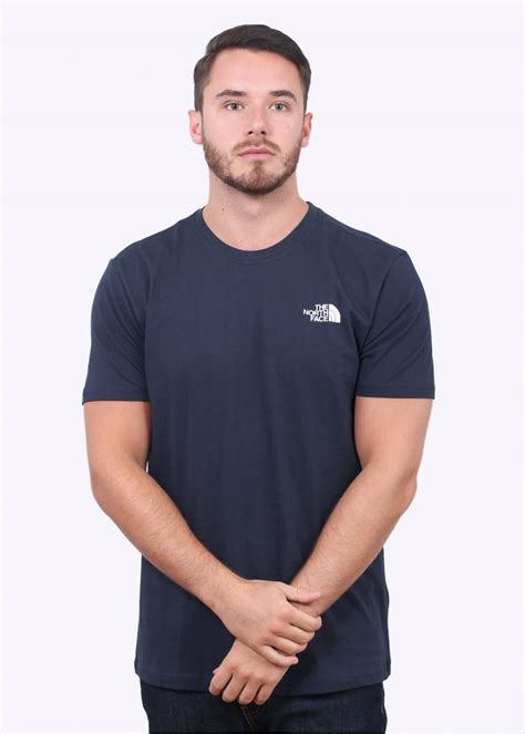 T Shirt The Nort Nafy the ss box navy t shirts from triads uk