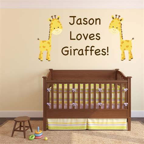 Custom Nursery Wall Decals Custom Wall Decal Wall Decal World
