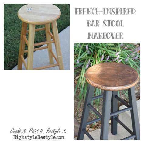 inspired bar stool makeover crafty 2 the diy