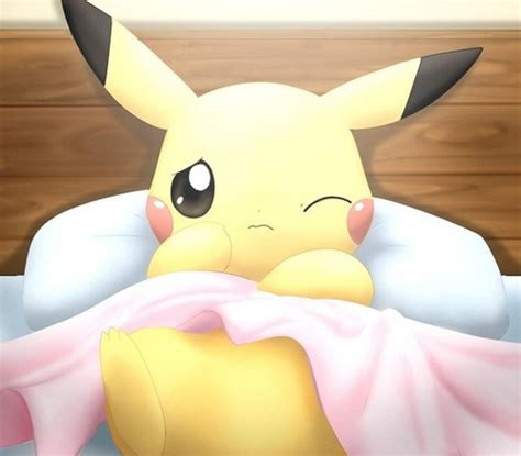 pikachu bed pok 233 mon images pikachu in bed hd wallpaper and background photos 40043890