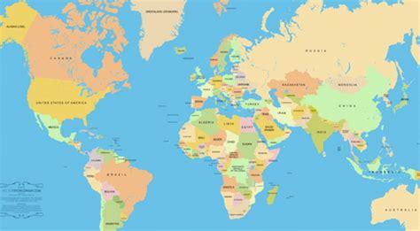 world map with country names high resolution бесплатные векторные карты мира ai eps svg
