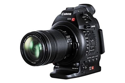 Canon Eos C100 canon eos c100 with daf installed and ef s 18 135 lens
