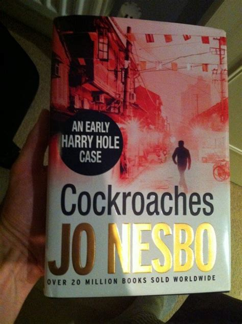 libro cockroaches harry hole 2 2013 october 187 crime fiction lover