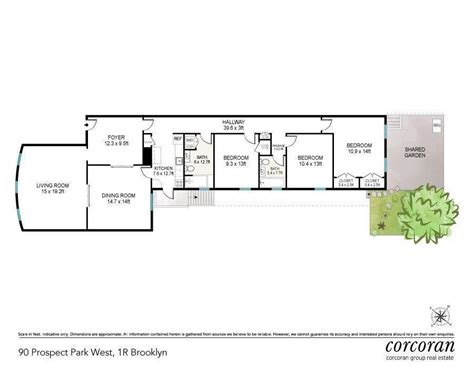 at prospect floor plans 6sqft 90 prospect park west floorplan