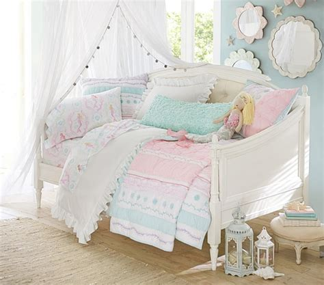 pottery barn girl bedding bailey ruffle quilted bedding pottery barn kids
