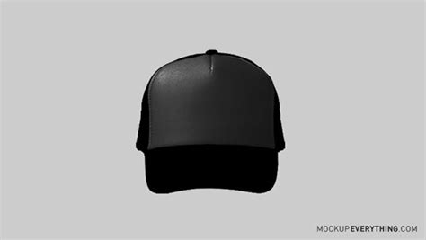 Topi Trucker Merch free trucker hat template on behance