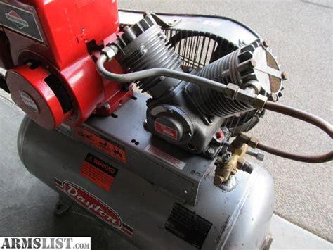 armslist for sale trade dayton gas powered air compressor