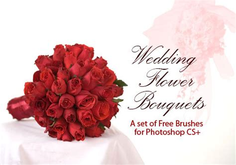 Wedding Border Photoshop Brushes by Wedding Photoshop Brushes 24 Flower Bouquets And Ornaments
