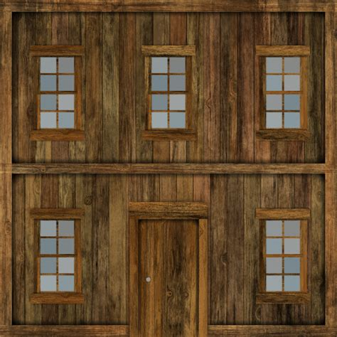 home texture wooden house gen texture