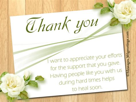thank you letter sympathy gift thank you note for condolence gift lamoureph