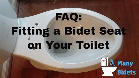 fitting a bidet toilet seat fitting a bidet seat on your toilet youtube