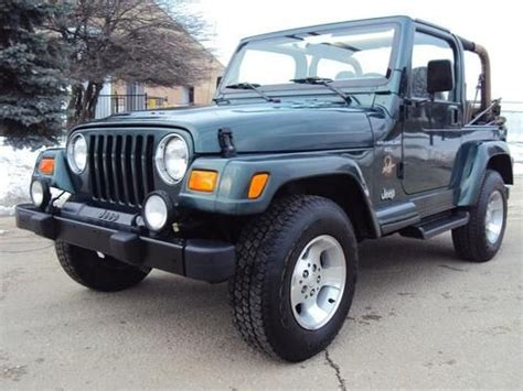 hayes car manuals 2001 jeep wrangler user handbook purchase used 2001 jeep wrangler sahara 5 speed manual a c cruise 62k miles in addison illinois
