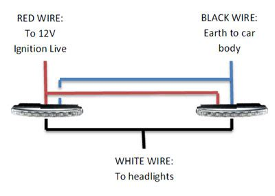 daytime running lights drl headlights wiring diagram get