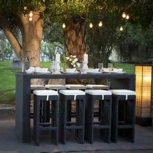 Bar Height Patio Dining Set Trying Bar Height Patio Table And Chairs At Home