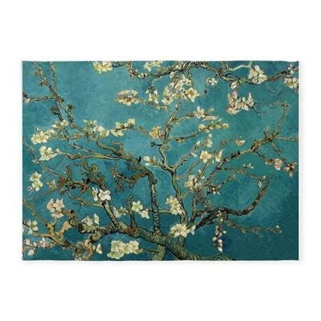 gogh rug gogh almond branches in bloom 5 x7 area rug by iloveyou1