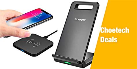 choetech deals heavy discounts on iphone xs xs max compatible wireless chargers starting from