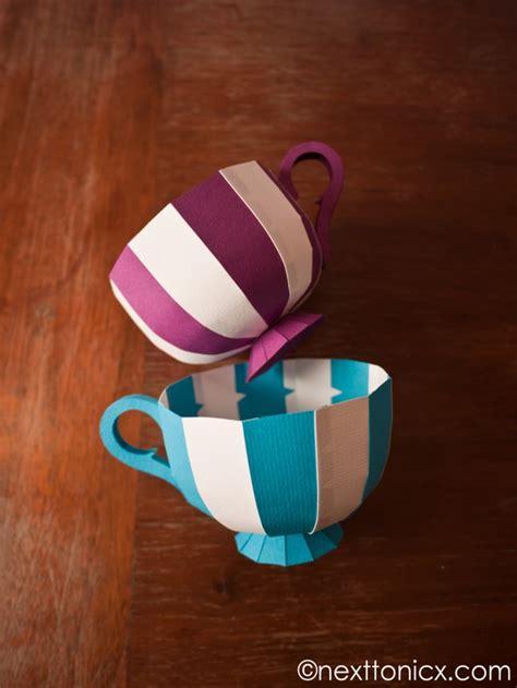 How To Make Paper Tea Cups - paper tea cups maker crate