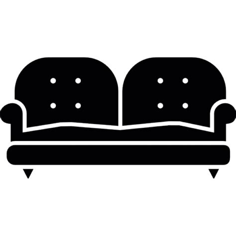 couch svg sofa of two places icons free download