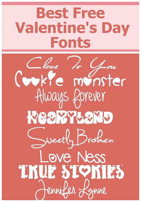 free valentines fonts 17 best images about s day treats and crafts on