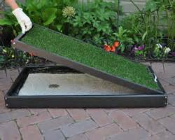 Dog Grass For Patio by Pet Patio Potty Info Doggy Solutions