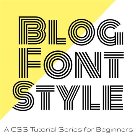 tutorial html font code it pretty blog font style with css a tutorial series