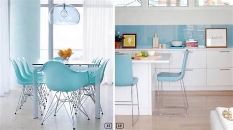 cuisine bleu ciel fabulous cuisine dans un style moderne avec des murs en