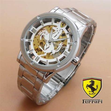 Jam Tangan Q Q Transparant jam tangan skeleton transparan matic delta jam