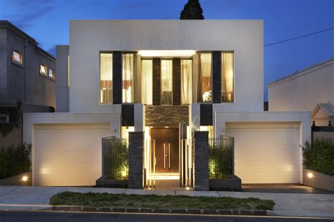 designer homes narrow block home designs