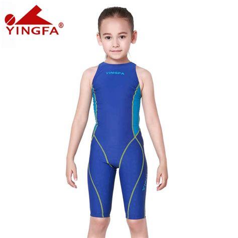 swimwear swimming suits at trisportscom yingfa children girls swimwear kids one piece swimsuits