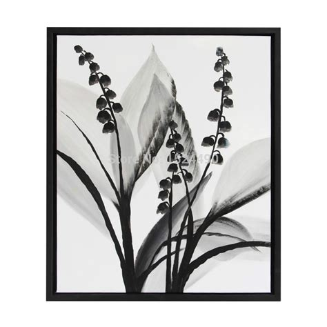Black And White Flower Wall