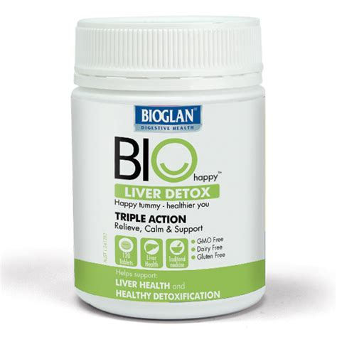 Detox Tablets buy bioglan bio happy liver detox 120 tablets at
