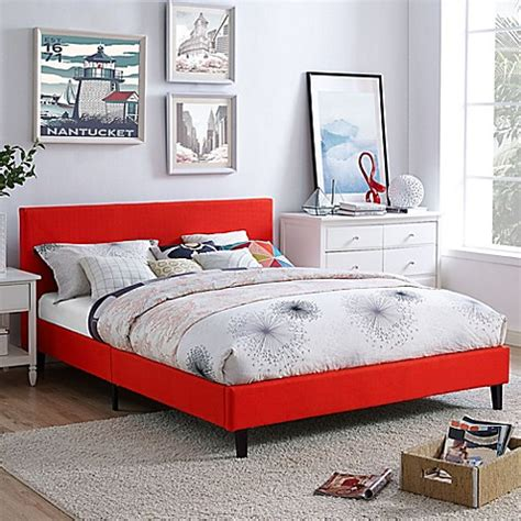 bed bath and beyond bed frame modway anya queen bed frame bed bath beyond