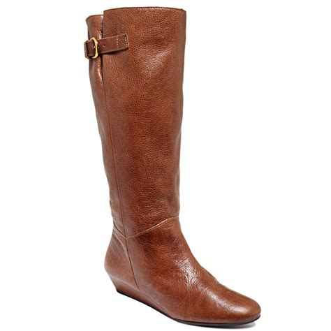 steve madden boots steve madden intyce boots in brown cognac lyst