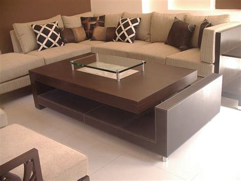 Rectangular Center Table Designs For Living Room Living Room Table Designs
