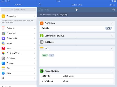 evernote workflow workflow review integrated automation for ios 8