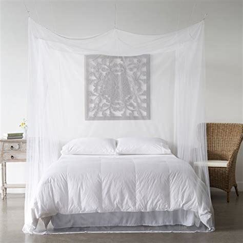 twin bed canopy curtains mosquito net bed canopy bug screen repellant rectangle