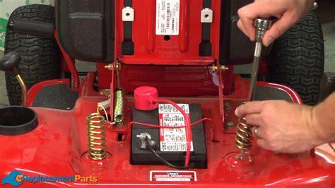replace  seat springs   troy bilt pony lawn