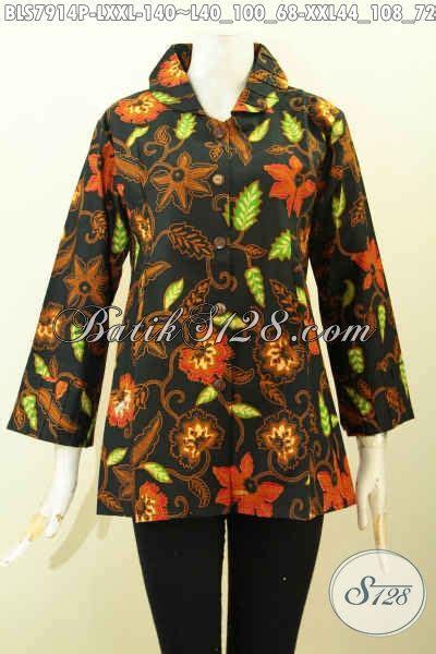 desain baju batik kekinian baju batik wanita terbaik hadir dengan desain kekinian