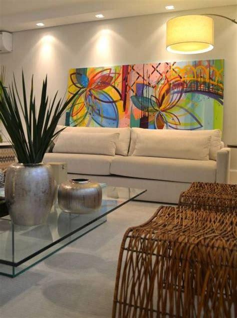 casas  por su decoracion parecen galerias de arte cuadros  sala moderna cuadros