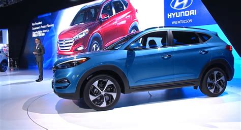 Hyundai Reveals More Handsome 2016 Tucson For North