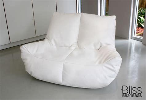 two seater bean bag sofa two seater lounge bean bag bliss bean bags australia