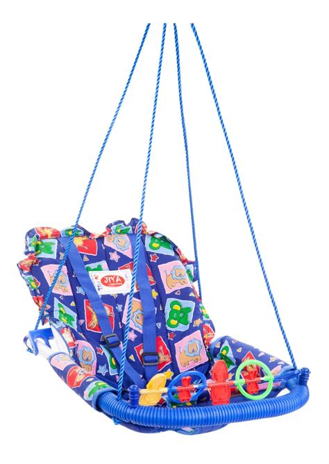 toddler swing india buy jiya baby swing cotton blue online in india