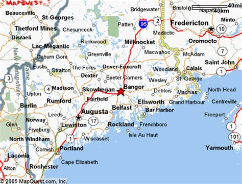 bangor maine map map of bangor maine and surrounding areas pictures to pin