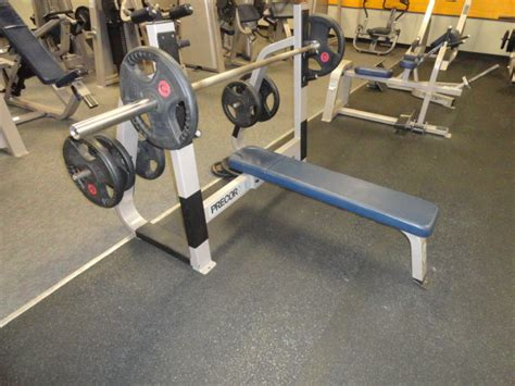 life fitness bench press midwest used fitness equipment precor icarian olympic