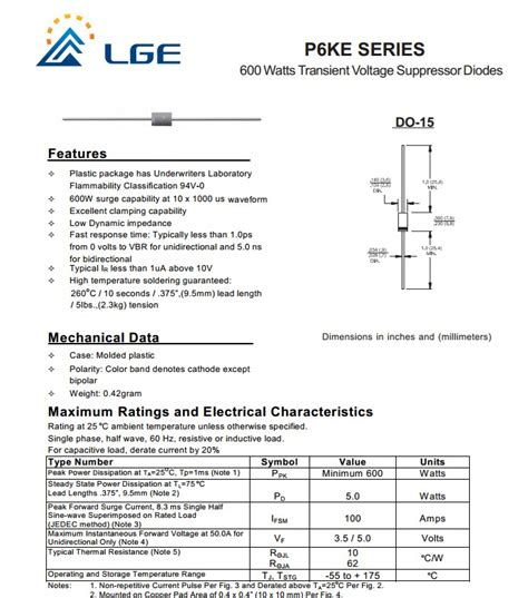 tvs diode application guide p6ke36a 600w dip tvs diode for application in power mosfet protection buy dip tvs diode