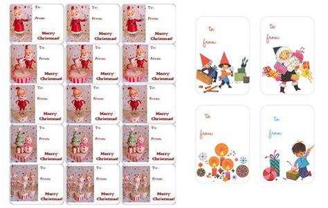 Etichette Natalizie Da Stare by Risorse Gratuite Le Etichette Di Natale Per I Pacchi Regalo