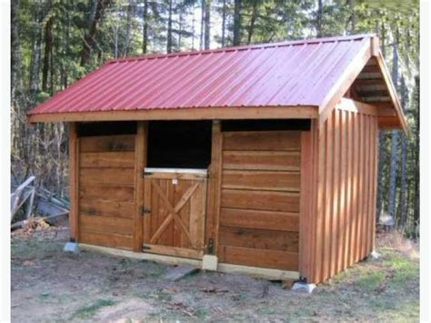 Small Shed Kits by Post And Beam Small Shed And Barn Building Kits